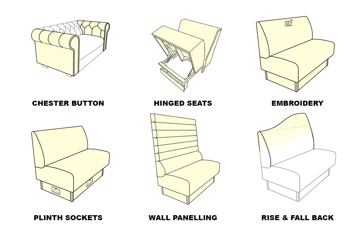 Fixed Seating Design Styles