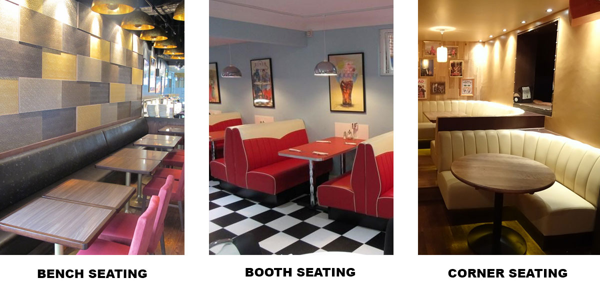 Types of Fixed Seating