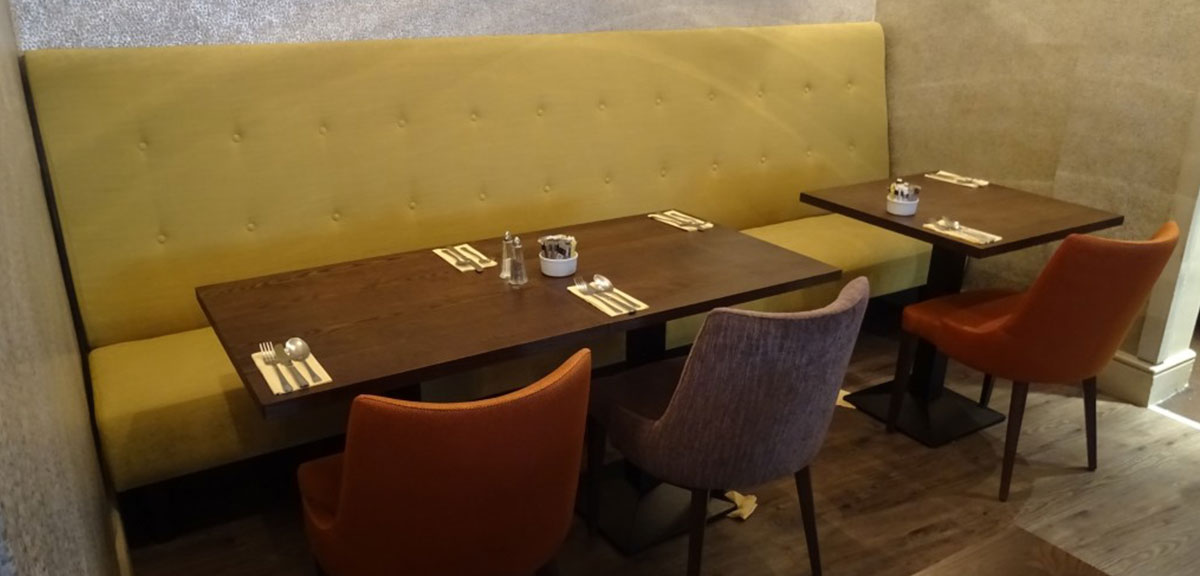 Fixed Seating For Restaurants