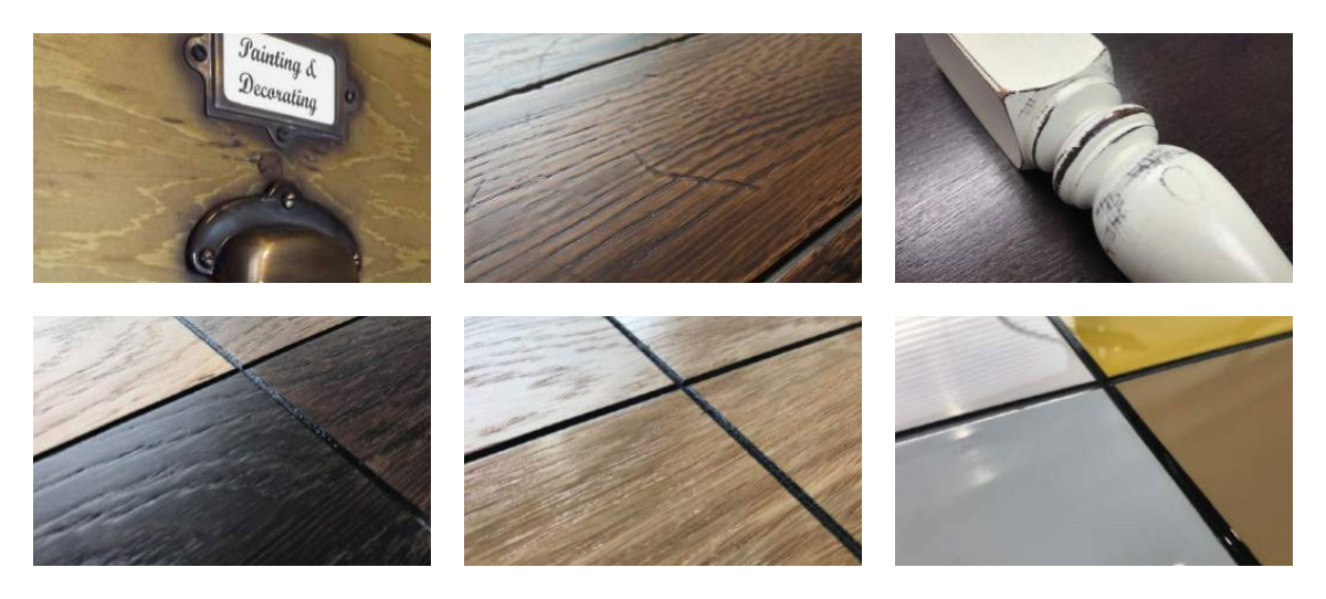 Bespoke table top finishes
