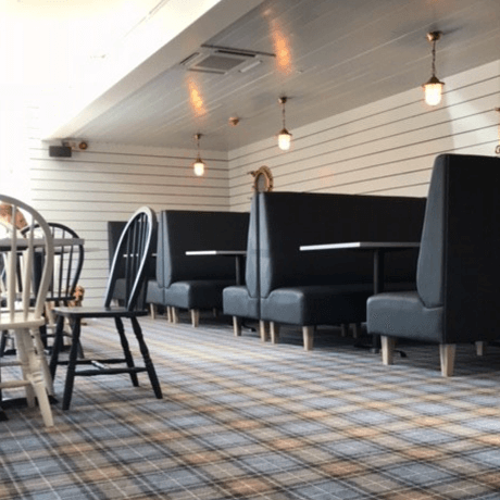Booth Seating in Restaurant