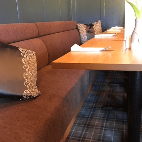 Bench Seating in Mink