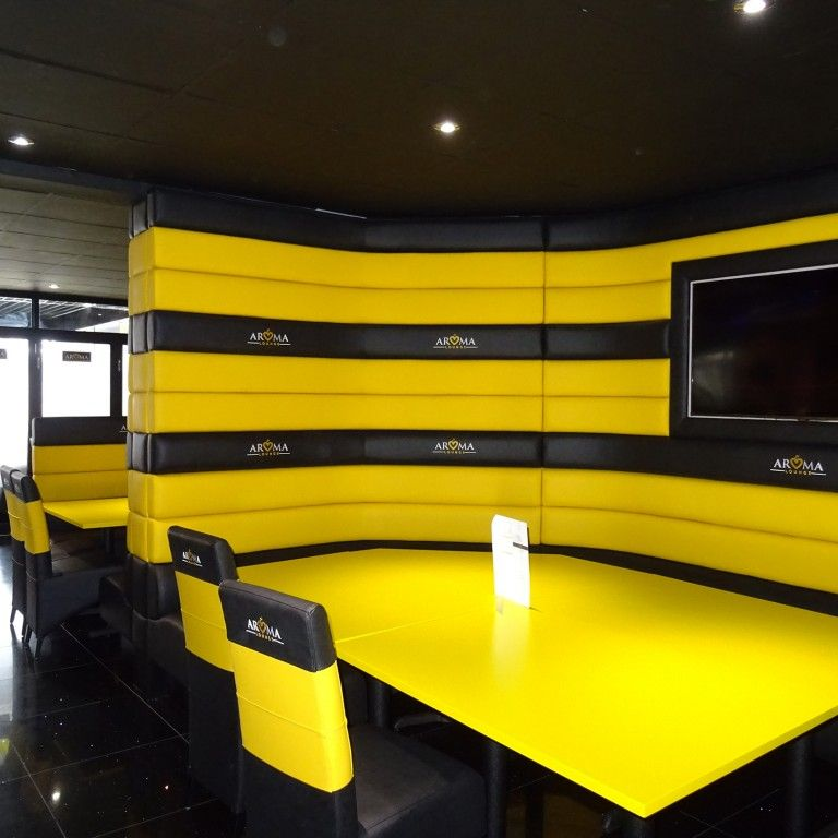 Four Horizontal Back Seating Restaurant Fit Out 1