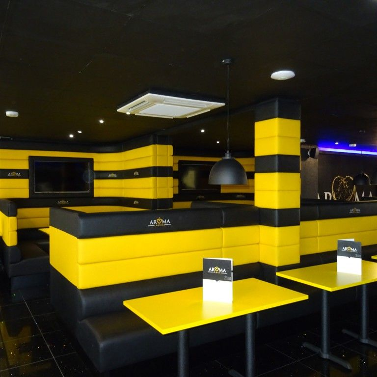Four Horizontal Back Seating Restaurant Fit Out 2