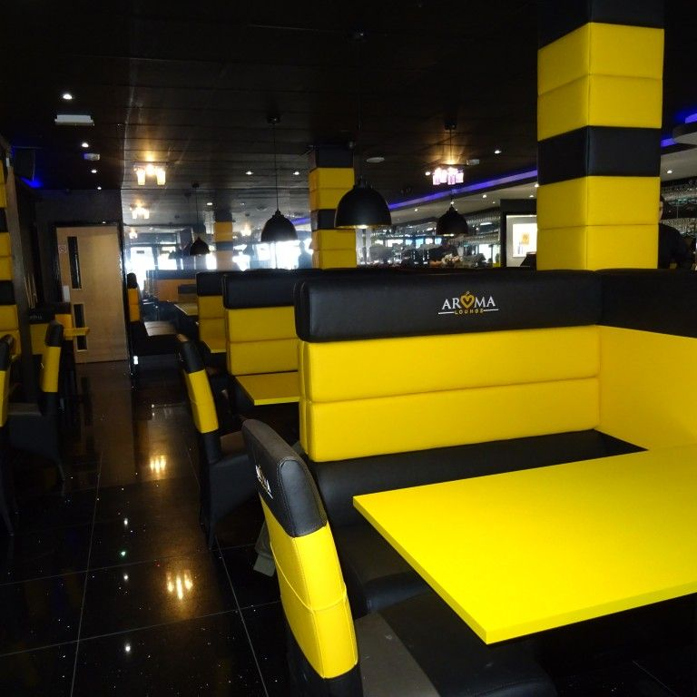 Four Horizontal Back Seating Restaurant Fit Out 3