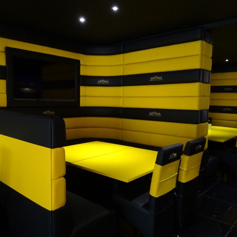 Four Horizontal Back Seating Restaurant Fit Out 4