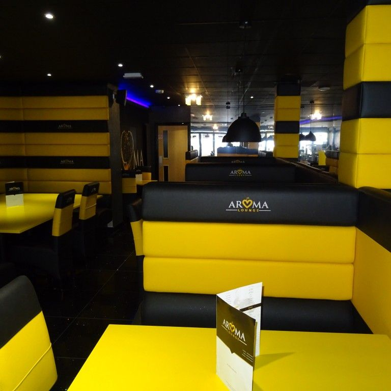 Four Horizontal Back Seating Restaurant Fit Out 5