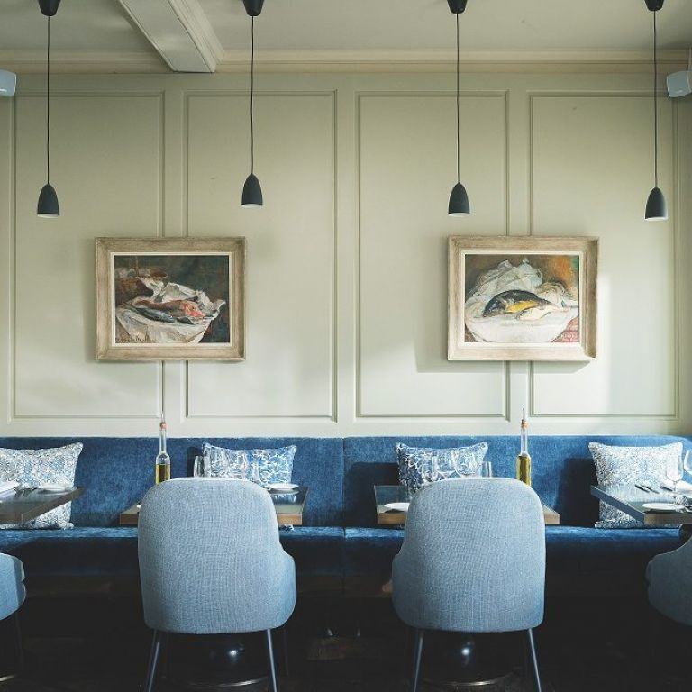 Wooden Spindle Dining Chairs