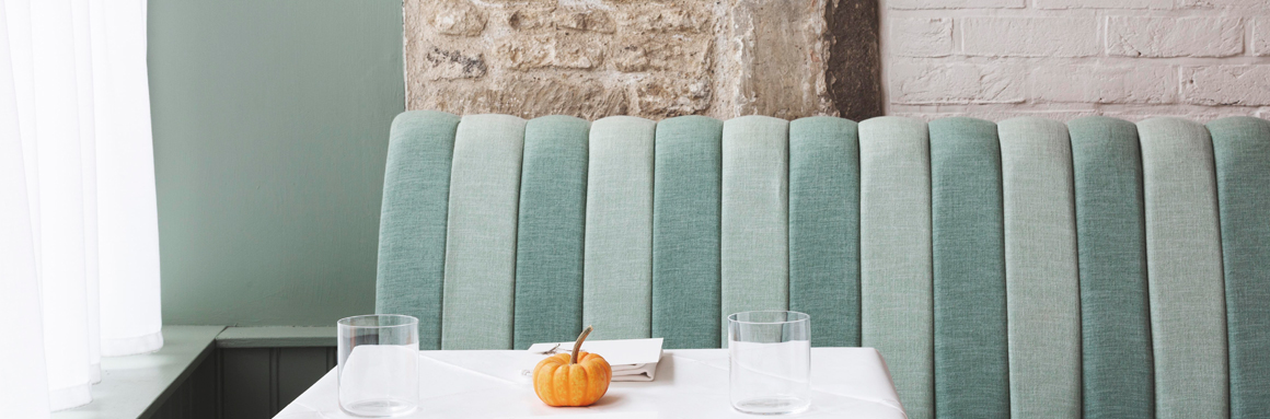 Fluting Styles for Atlas Banquette Seating